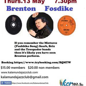 Brenton Fosdyke at the Kalamunda Jazz Club
