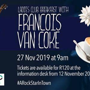 Ladies Club Breakfast with Francois Van Coke