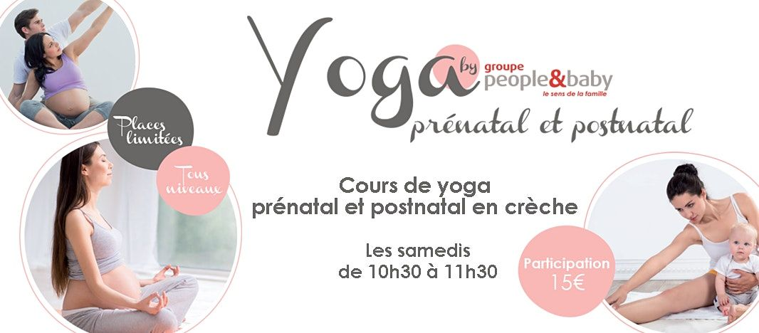 Yoga prénatal en crèche - La Madeleine | Event in Lille | AllEvents.in