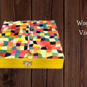 Decoupage Wooden Jewelry Box Virtual Workshop