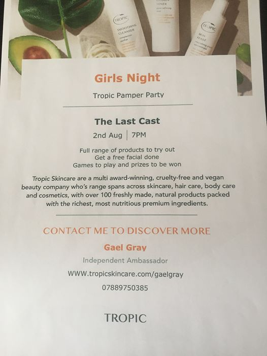 Tropic Girls Night At Tropic Skincare By Gael Gray