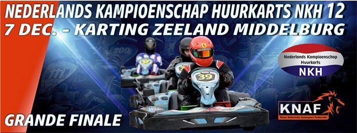 Knaf Nederlands Kampioenschap Huurkarts NKH event 12 Middelburg