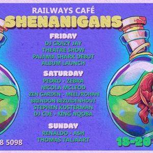 Railways Cafe Weekend Shenanigans