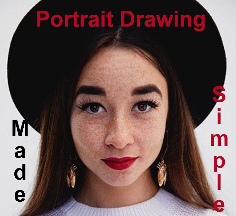 Zoom Portrait Drawing Made Simple, NYC   Online Event   AllEvents.in