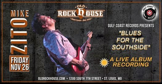 Mike Zito at Old Rock House, 26 November | Event in St. Louis | AllEvents.in