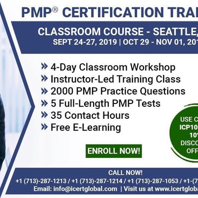 PMP Certification Training Course in Seattle WA USA  4-Day PMP Boot Camp