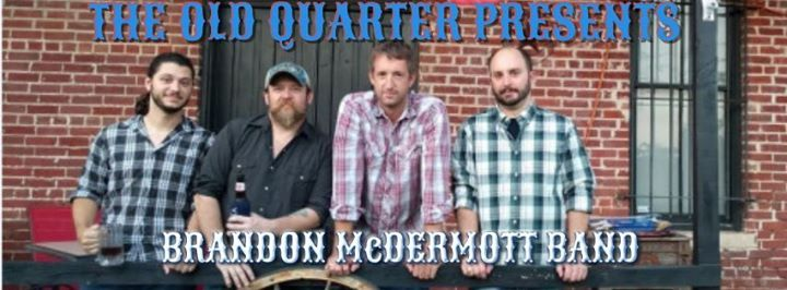 The Brandon Mcdermott band live at the Old Quarter