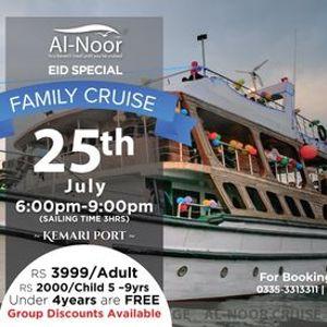 Family Sunset Dinner Cruise