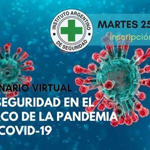 Seminario Virtual - Bioseguridad en el Marco de la Pandemia