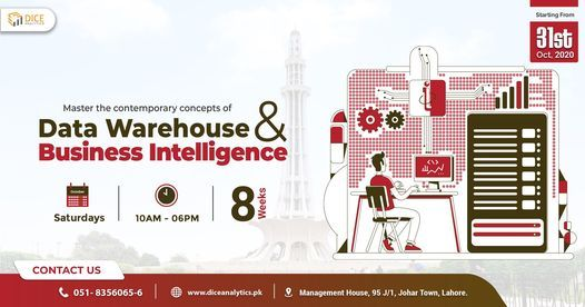 Lahore: Data Warehouse & Business Intelligence Training, 24 October | Event in Lahore | AllEvents.in