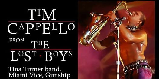 The Lost Boys Night  80s Dance Party Ft. Tim Cappello at Crescent Ballroom