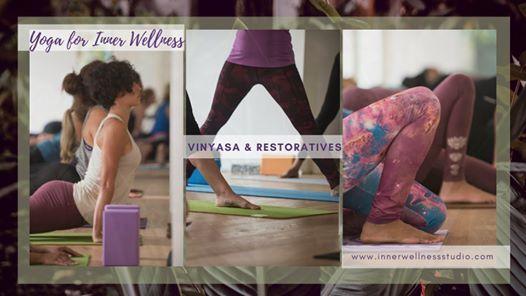 Online Yoga Classes - Alignment & Restorative Hatha Vinyasa