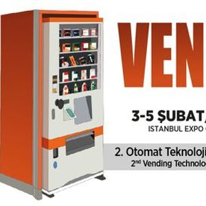 VENDEX TURKEY- Otomat Teknolojileri & Selfservis Sistemleri Fuar  Vending Technologies & Selfservice Systems Exhibition