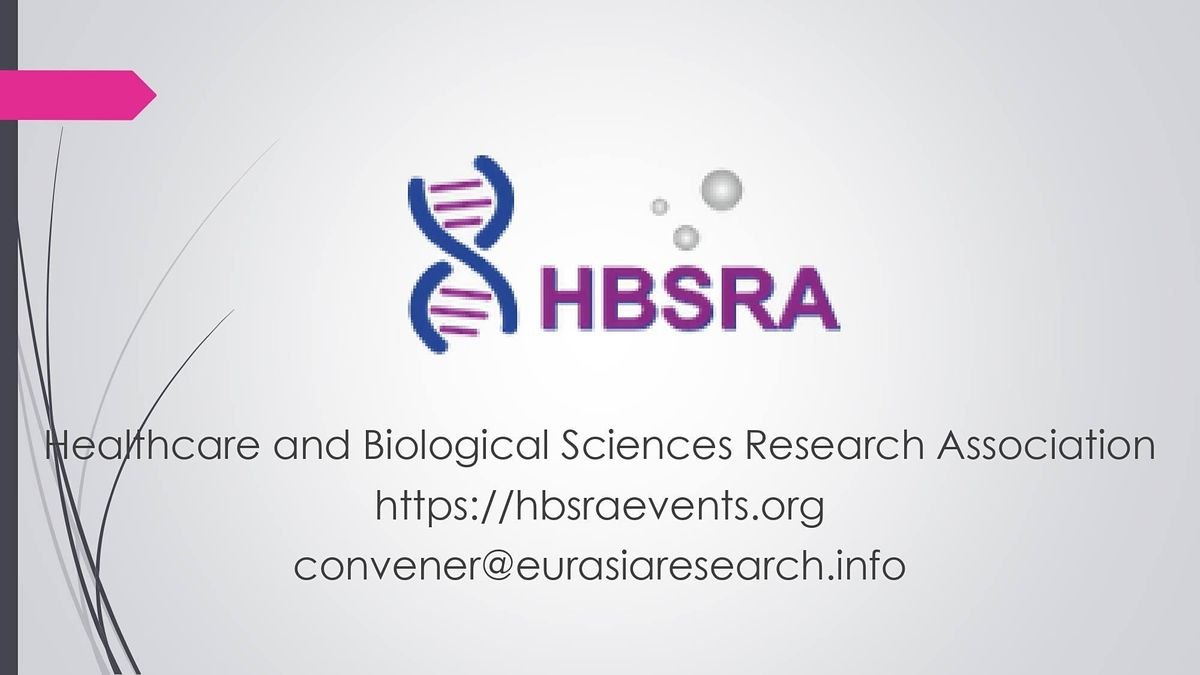 2021–9th International Conference on Research in Life-Sciences & Healthcare, 4 June | Event in Paris