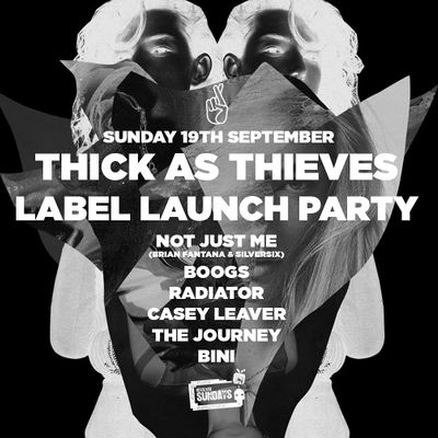 Thick as Thieves Label Launch Party  Revolver Sundays