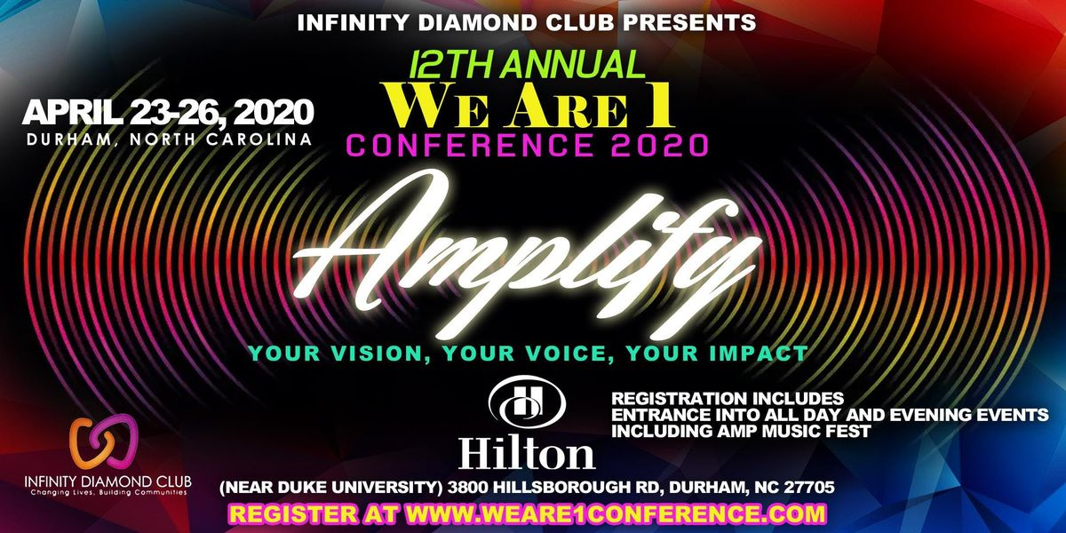 We Are 1 Conference Special Event Tickets Only