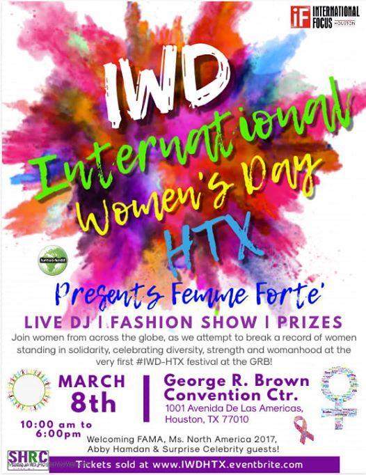 International Womens Day - Houston (IWD-HTX)
