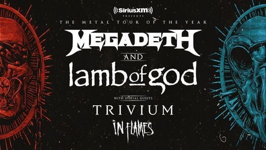 Megadeth and Lamb of God 2021- The Armory, 28 September | Online Event | AllEvents.in