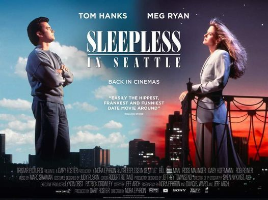 """Điện Ảnh: """"Sleepless in Seattle"""" (Đêm Trắng ở Seattle), 1993, 30 October 