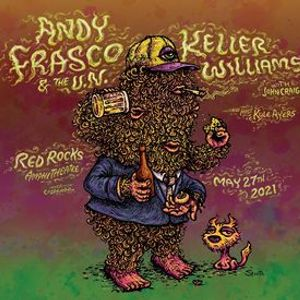 Andy Frasco & The U.N. and Keller Williams at Red Rocks