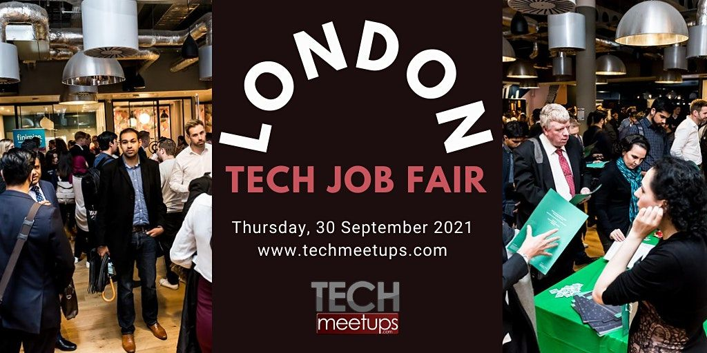 London Tech Job Fair Autumn 2020 by Techmeetups