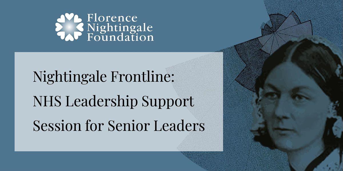FNF Leadership Support Session for Senior Leaders | Online Event | AllEvents.in