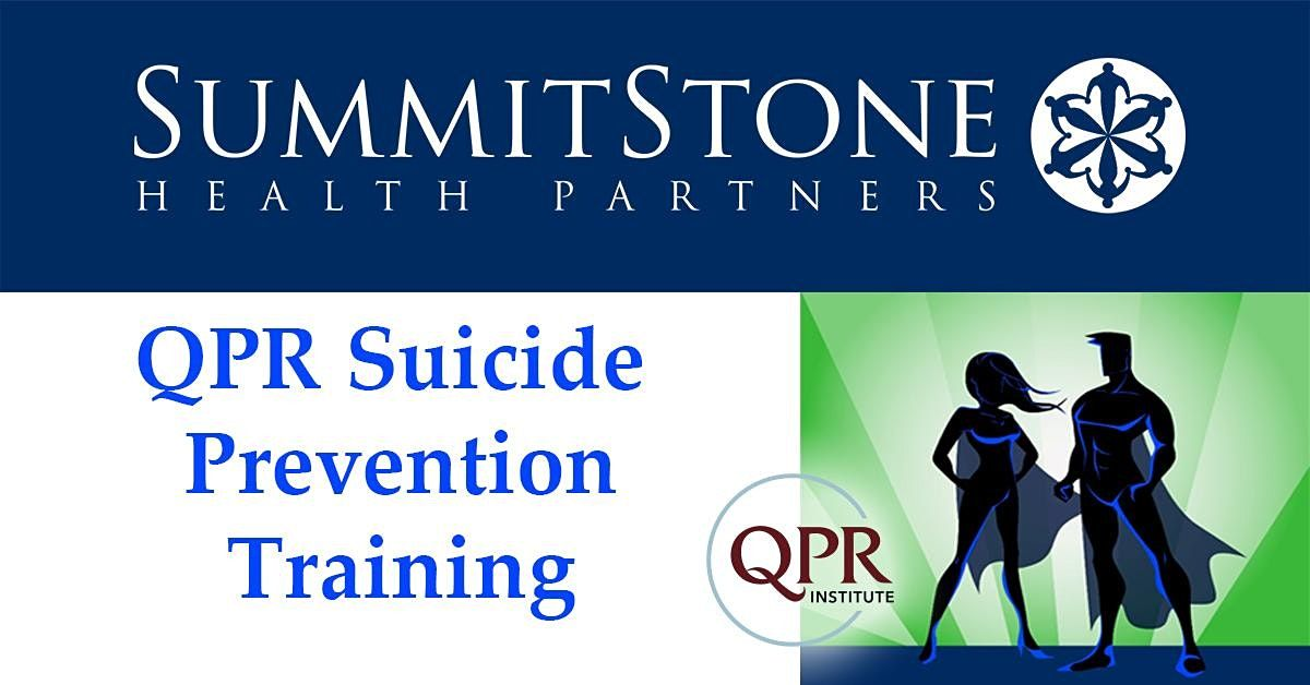 Virtual QPR (Question, Persuade, Refer) Suicide Prevention  Training | Online Event | AllEvents.in