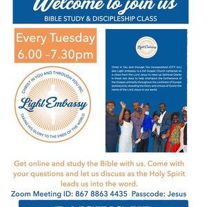 Bible Study and Discipleship class