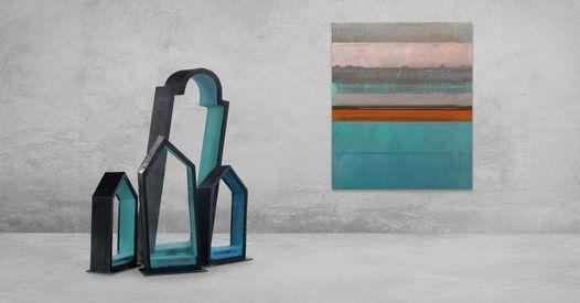 40 Jaar Galerie  Opening Expo Luc Brusselmans - Werner Paenen