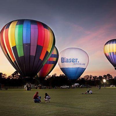 New Yorks Hot Air Balloon Festival