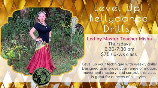 Bellydance with Misha: Level Up Drills!, 13 May | Event in Sarasota | AllEvents.in