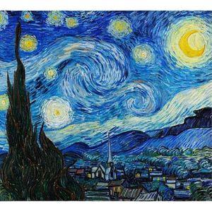 Workshop Pintura Noite Estrelada  Van Gogh