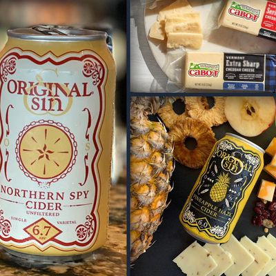 ORIGINAL SIN HARD CIDER & CABOT CHEESE  Virtual Tasting Special Event