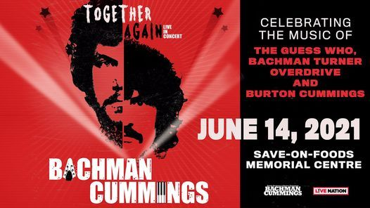 Randy Bachman and Burton Cummings – Together Again, 14 June | Event in Victoria | AllEvents.in