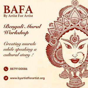 Bengali Mural Online Workshop with BAFA