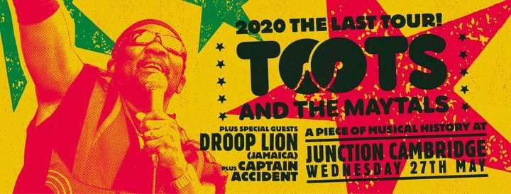 Toots and the Maytals at Cambridge Junction