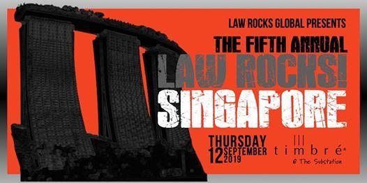 5th Annual Law Rocks Singapore