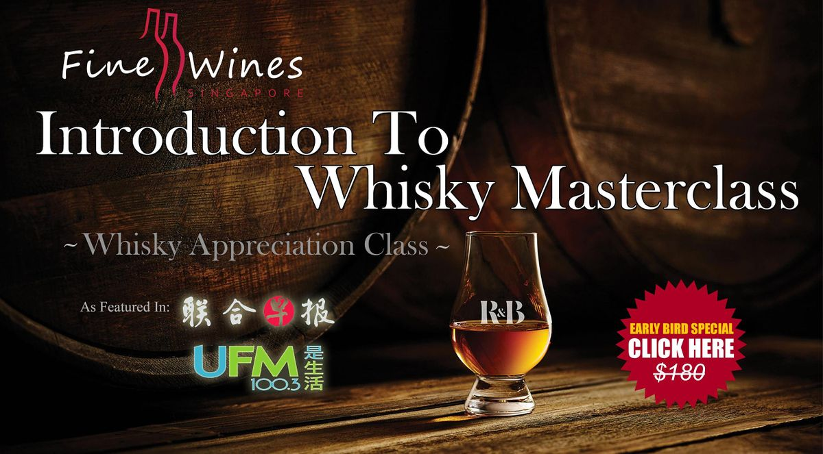 Virtual Whisky Appreciation Virtual Masterclass, 7 October | Online Event | AllEvents.in