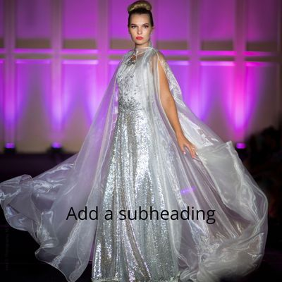 Exclusive Model Icon Fashion Show