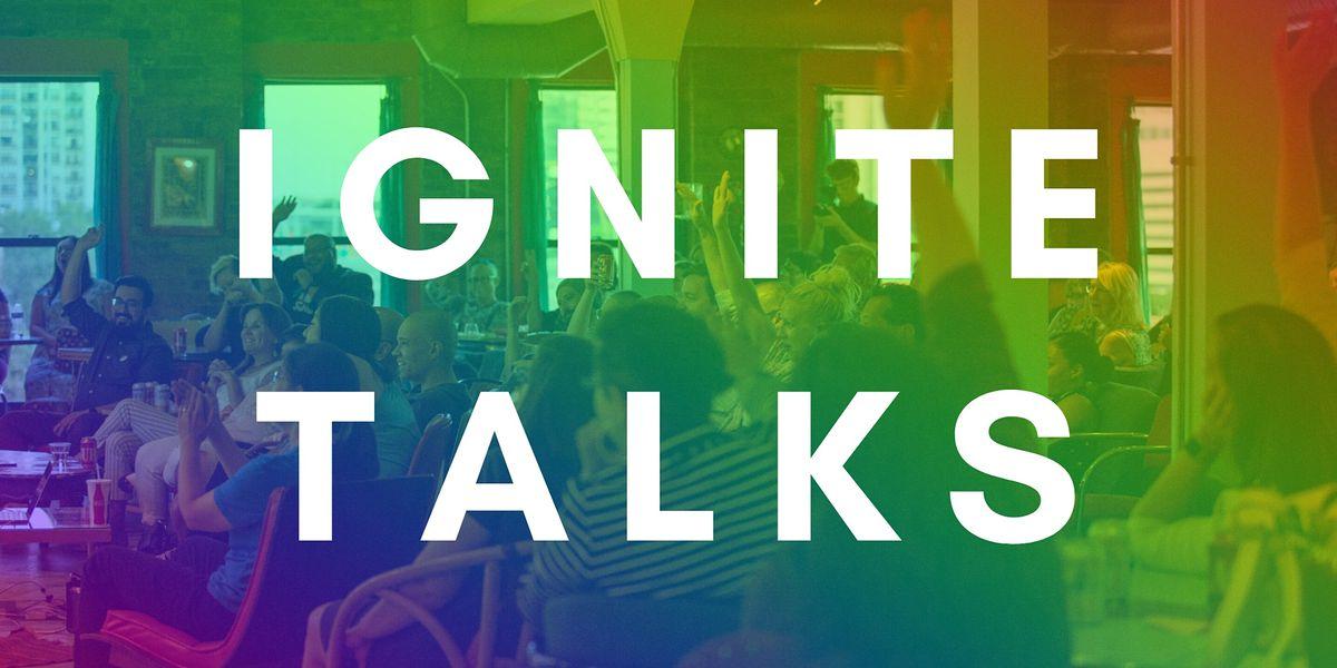Ignite Talks Chicago SEASON CLOSER - November 24, 2020 | Online Event | AllEvents.in