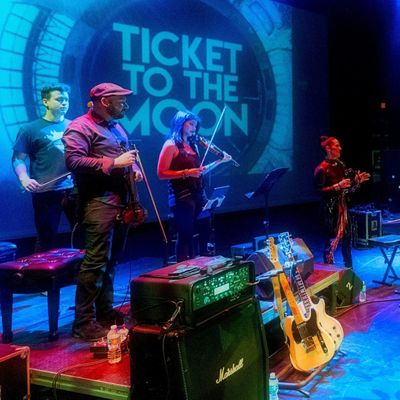 Friday Night Sound Waves welcomes Ticket to the Moon