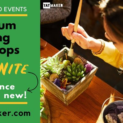 Plant & Sip Terrarium Workshop in Lake City with Plant Nite