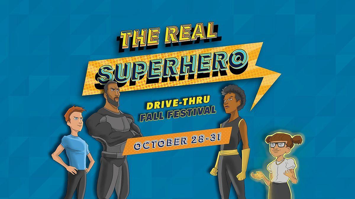 Halloween Festival Oct 28 2020 GCC Presents: A Drive Thru Fall Festival: The Real Superhero, Wed