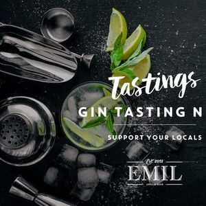 Gin Tasting NRW  support your locals