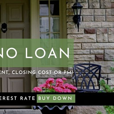 No First Time Home Buyer Requirement  & 100% Financing
