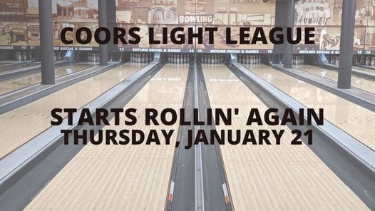 Coors Light Bowling League | Event in Duluth | AllEvents.in
