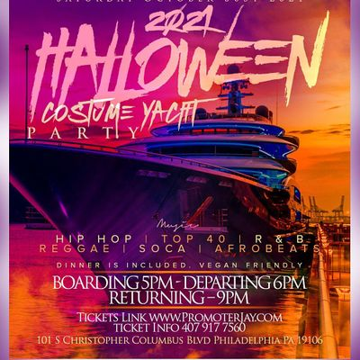 2021 Halloween Costume Yacht Party