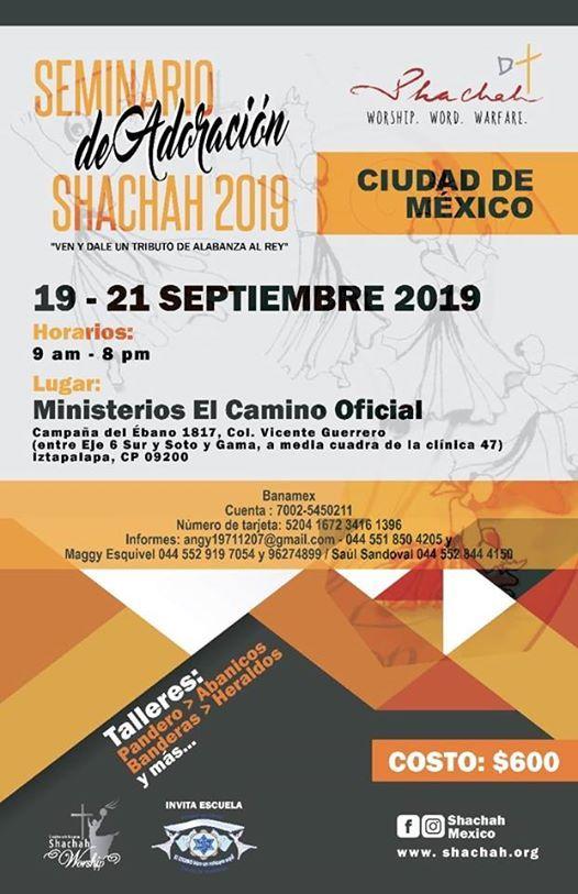 Seminario Shachah en Ciudad de Mxico (CDMX)