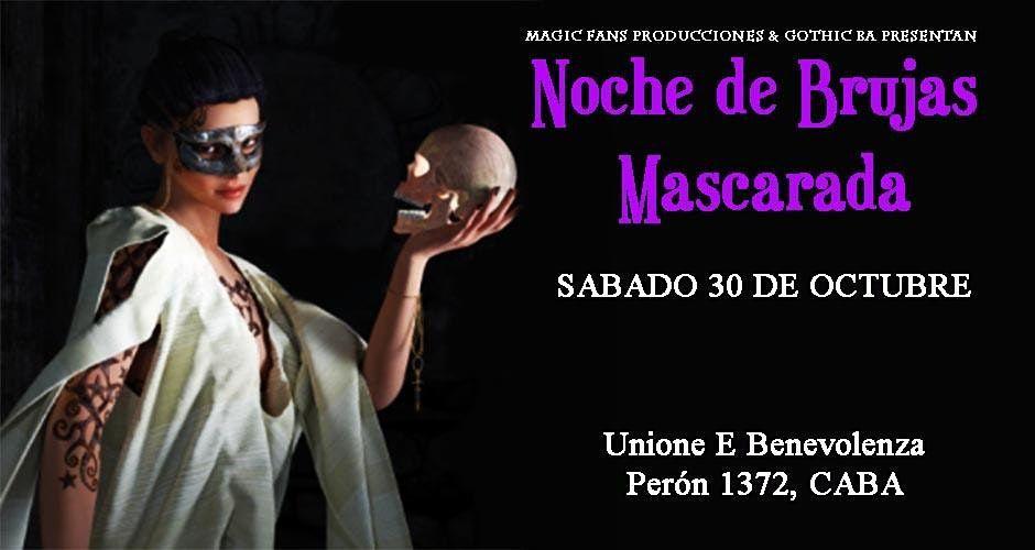 NOCHE DE BRUJAS MASCARADA, 30 October   Event in San Nicolas   AllEvents.in