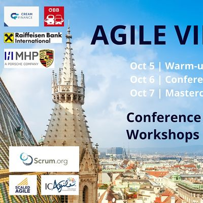 Agile Vienna Conference and optional Masterclasses